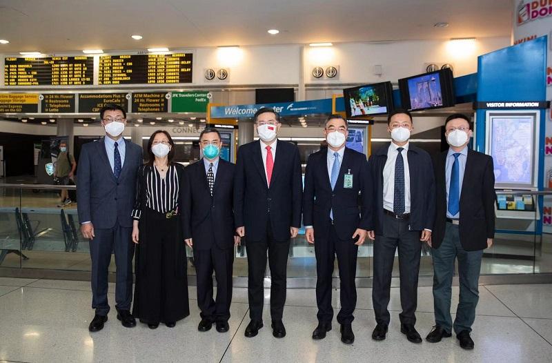 盛图官方:中国驻美大使秦刚抵美履新:中美关系大门打开 就不会关上(图2)